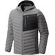 Mountain Hardwear M´s StretchDown Hooded Jacket Manta Grey